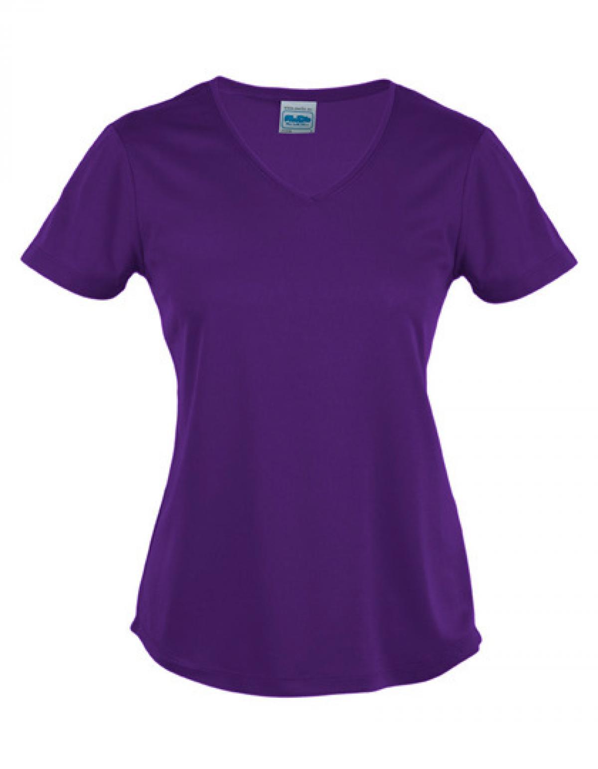 damen sport t shirt v neck cool zertifiziert nach wrap just cool ebay. Black Bedroom Furniture Sets. Home Design Ideas