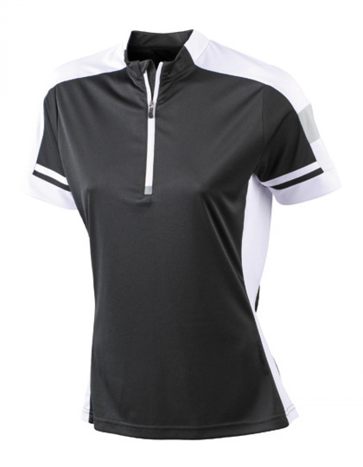 damen bike und sport t shirt rei verschluss mit kinnschutz james. Black Bedroom Furniture Sets. Home Design Ideas