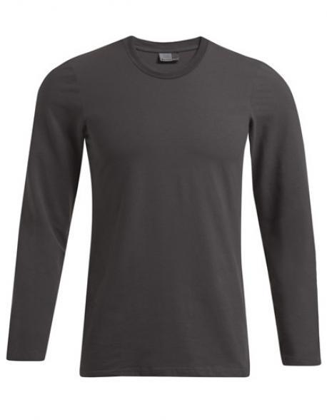 Men´s Slim Fit-T Longsleeve Herren T-Shirt