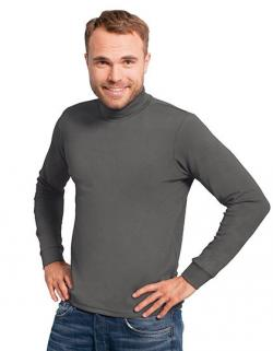 Men´s Turtleneck-T Longsleeve Herren T-Shirt