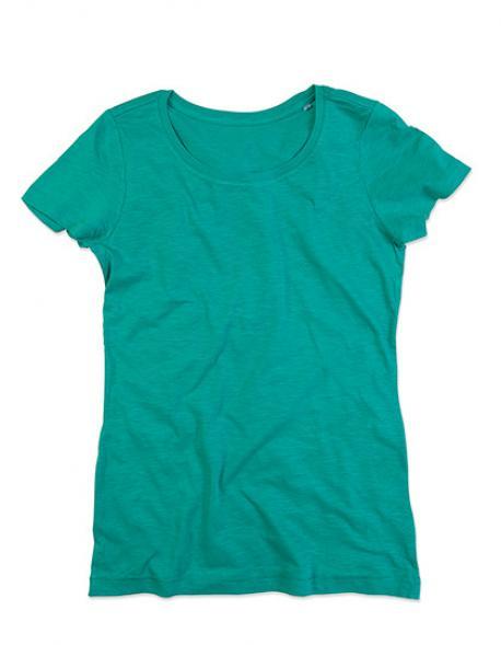 Womens Sharon Crew Neck Damen T-Shirt
