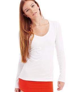 Women Long Sleeve Damen T-Shirt Claire