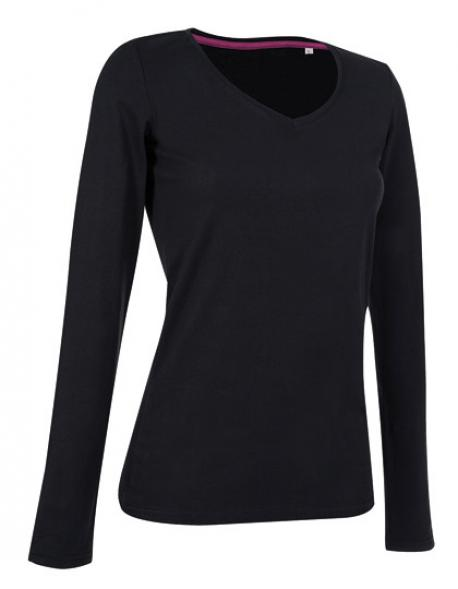 Women Long Sleeve Damen T-Shirt Claire