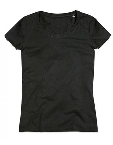 Womens Janet Crew Neck Damen T-Shirt