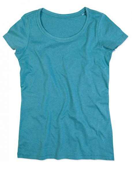 Womens Lisa Crew Neck Damen T-Shirt