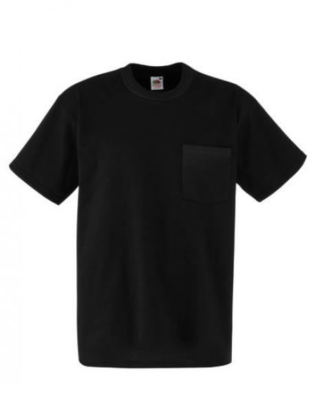 Heavy Cotton Pocket Herren T-Shirt mit Brusttasche