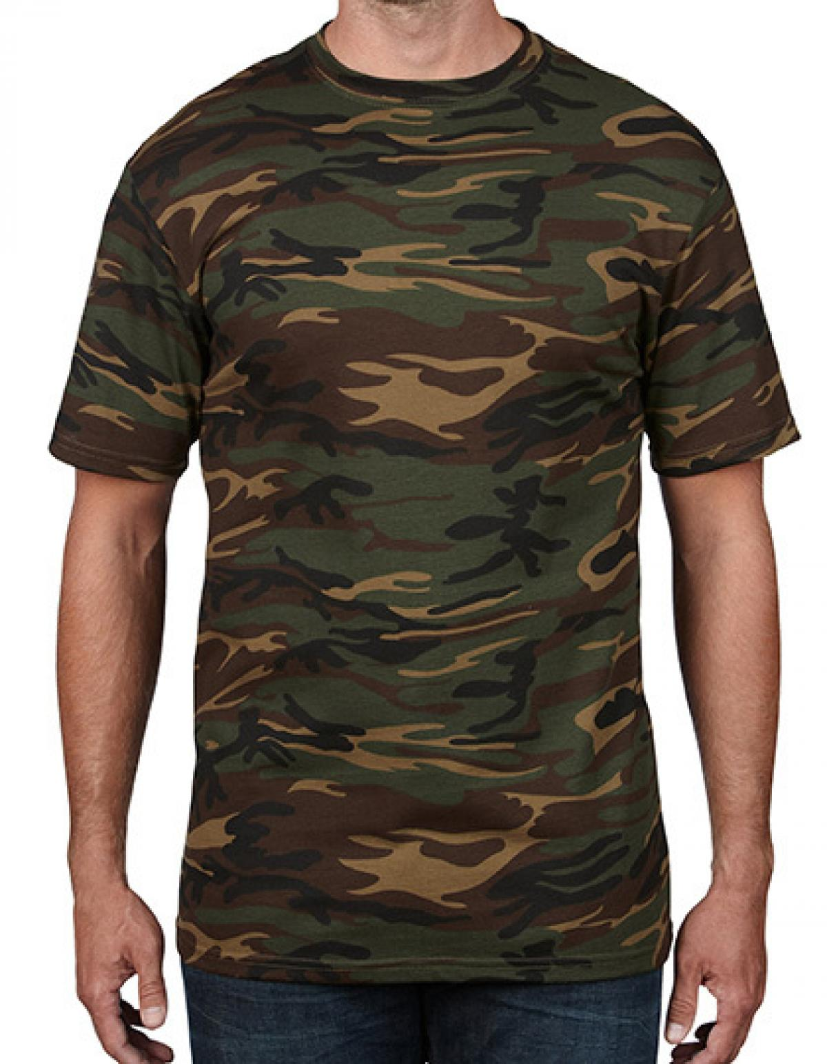 camouflage tarn herren t shirt rexlander s. Black Bedroom Furniture Sets. Home Design Ideas