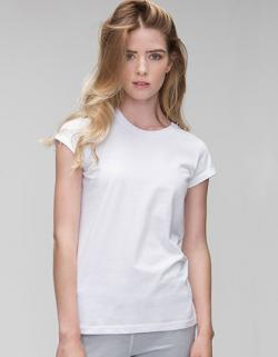 Women´s Roll Sleeve Damen T-Shirt