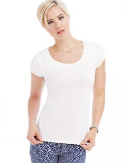 Women Crew Neck Megan Damen T-Shirt