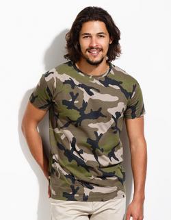Mens Camo / Tarn Herren T-Shirt