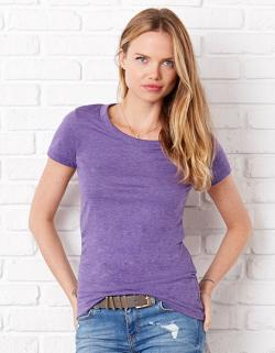 Triblend Crew Neck Damen T-Shirt