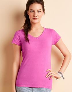Softstyle Ladies  V-Neck Damen T-Shirt
