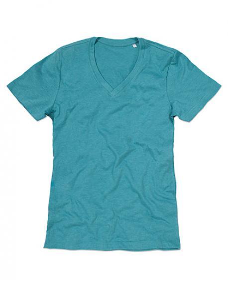 Luke V-Neck Herren T-Shirt