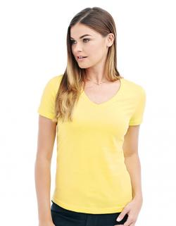 Classic V-Neck Damen T-Shirt