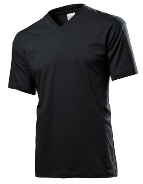 Classic V-Neck Herren T-Shirt