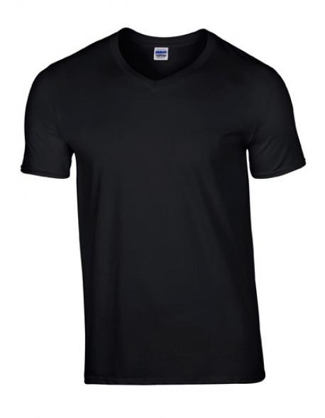 Softstyle V-Neck Herren T-Shirt