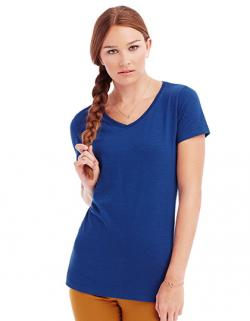 Womens Sharon V-Neck Damen T-Shirt