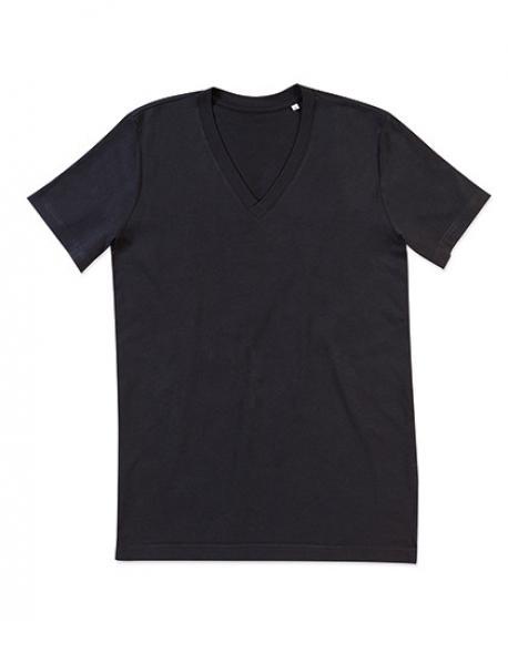 James V-Neck Herren T-Shirt