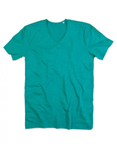 Shawn V-Neck Herren T-Shirt | ÖKO-TEX Standard 100