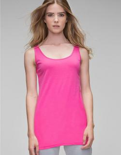 Women´s Long Length Vest Damen T-Shirt