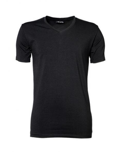 Mens Stretch V Herren T-Shirt