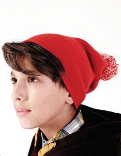Junior Snowstar Beanie Wintermütze