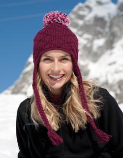 Glacier Pom Pom Hat Wintermütze