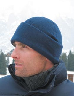 Fleece Ski Bob Hat Wintermütze