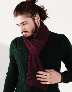Metro Knitted Scarf / Herren Winter Schal