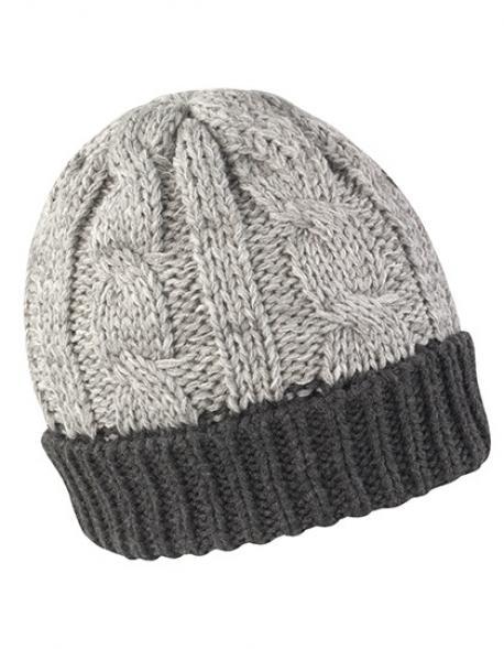 Shades of Grey Hat Wintermütze