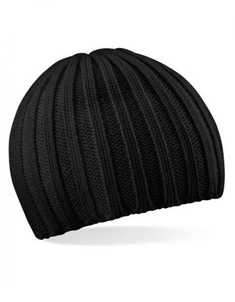 Chunky Knit Beanie Wintermütze