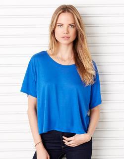 Flowy Boxy Damen T-Shirt