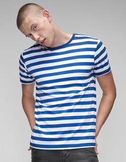 Herren T-Shirt modisch gestreift