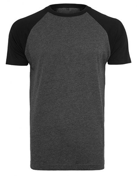 Raglan Contrast Herren T-Shirt