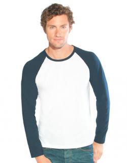 Men´s Baseball-T Longsleeve Herren T-Shirt