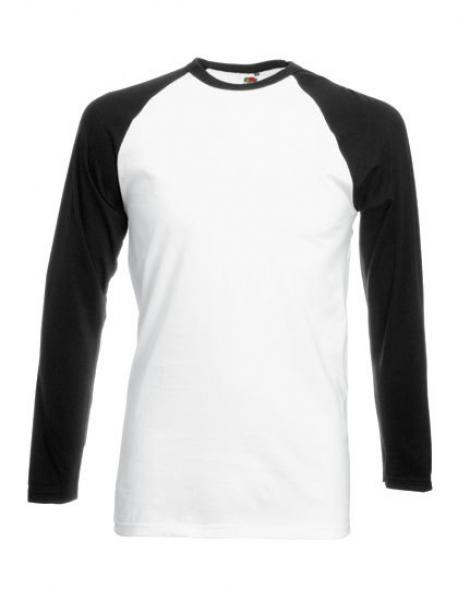 Long Sleeve Baseball Herren T-Shirt