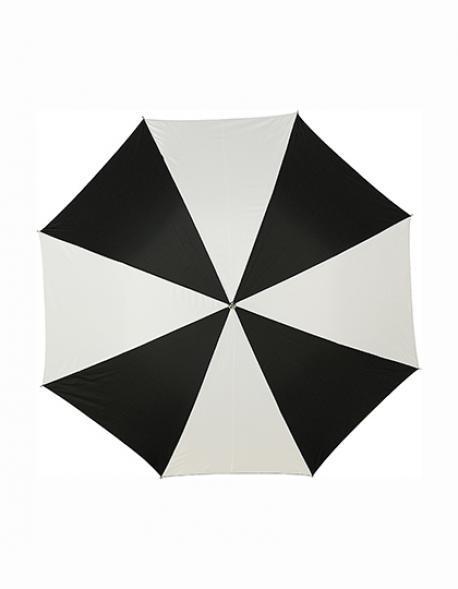 Umbrella Cor. Rot und Weiß Regenschirm | Ø ca. 103 cm