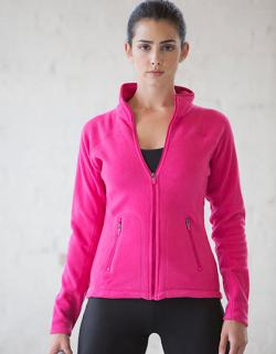 Damen Fleece Jacke Microfleece