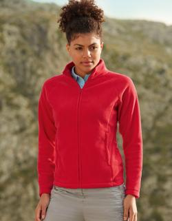 Lady-Fit Full-Zip Fleece / Damen Fleece Jacke