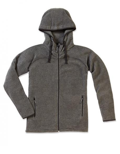 Active Power Fleece Jacket / Herren Kapuzenjacke