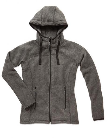 Active Power Fleece Jacket für Damen + ÖKO-TEX + WRAP