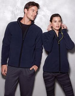 Active Teddy Fleece Jacket / Damen Jacke | ÖKO-TEX | WRAP