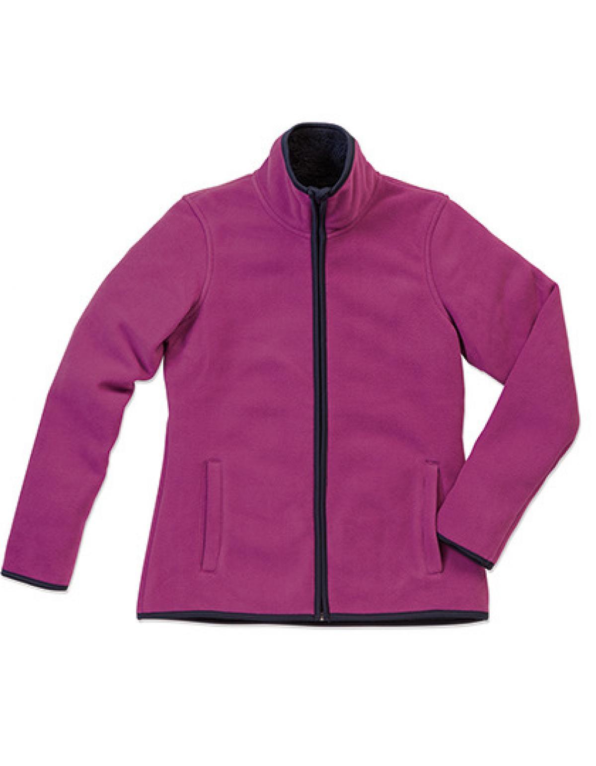 active teddy fleece jacket damen jacke ko tex wrap. Black Bedroom Furniture Sets. Home Design Ideas