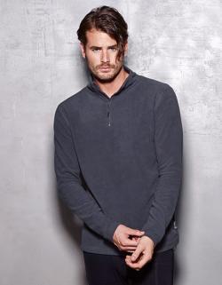 Active Fleece Half Zip / Herren Sweatshirt | ÖKO-TEX | WRAP