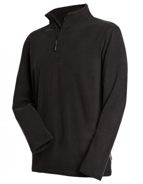 Active Fleece Half Zip / Herren Sweatshirt | ÖKO-TEX | WRAP