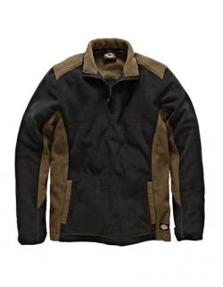 Two Tone Micro Fleece / Herren Jacke - JW7011