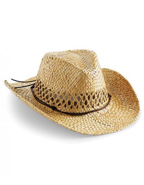 Straw Cowboy Hat / Strohhut im Advanger Style