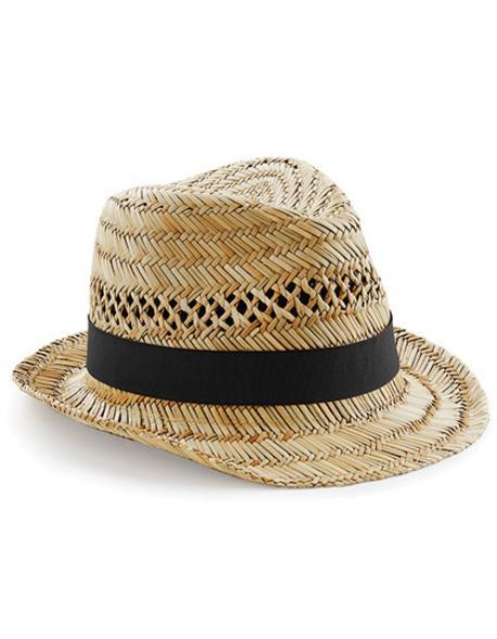 Straw Summer Trilby / Damen Sommer Strohhut