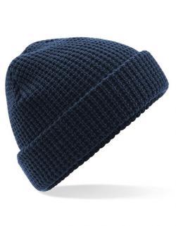 Classic Waffle Knit Beanie Mütze