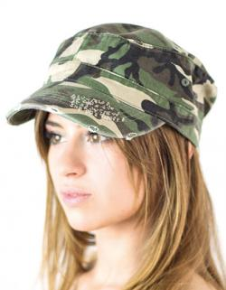 Urban Destroyed Camouflage / Tarn Cap